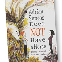 Adrian Simcox Does Not Have a Horse tests our imagination and privilege