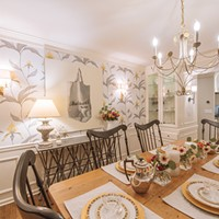 Wallpaper is hot. Local designers offer tips for using stylish prints and dimensional materials