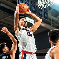 Gonzaga's Brandon Clarke is here to posterize fools on the court and outmaneuver them at <i>Fortnite</i> in his downtime