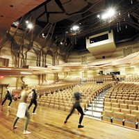 Gonzaga's new Myrtle Woldson Performing Arts Center is already uniting disciplines and providing a platform for creativity