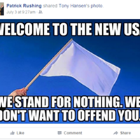 75+ more questionable posts by Airway Heights Mayor Patrick Rushing