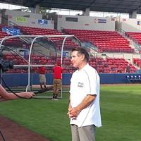The seasons change early for sports fans as Spokane Indians legend Steve Garvey visits