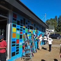 East Spokane mural painting paves the way for Fresh Soul restaurant