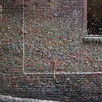 "Seattle's ""Gum Wall"" getting cleaned soon; enter a photo contest documenting the disgusting thing"