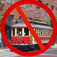 Repeat after me: The Central City Line is not a trolley. It's not a streetcar. It's a bus.
