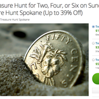 "Local entrepreneur organizes ""Treasure Hunt Spokane"" scavenger hunt race"