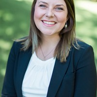 Kate Burke, Sen. Andy Billig's assistant, files to run for Amber Waldref's city council seat next year