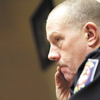 The lawsuit from former Police Chief Frank Straub? It's still happening.