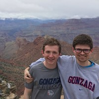 5 Gonzaga students, 20 hours, no sleep and one Grand Canyon: An<i> Inlander</i> intern's tales of the drive to the Final Four