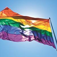 Pride Flag Ceremony