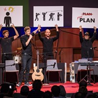 OK Go, who play Spokane this summer, discuss how they come up with those crazy music videos in TED Talk