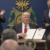 Trump Says That Transgender People Will Not Be Allowed in the Military