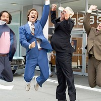 Our next Suds and Cinema event stays classy with a double feature of <i>Anchorman</i> and <i>Step Brothers</i>