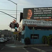 Billboard targets McMorris Rodgers for her stance on net neutrality regulations