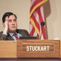 "No, Stuckart says, ""I'm not calling for a tent city"""