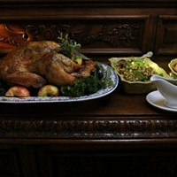 ENTRÉE: Getting ready for Turkey Day, and lots of leftovers