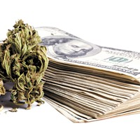 For now at least, the feds want pot money in banks