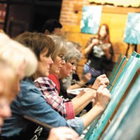 Best Paint-And-Drink Classes: Pinot's Palette