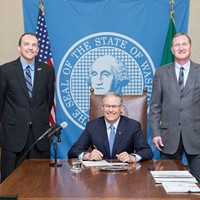 Despite opposition from current members, Inslee signs bill to expand Spokane County Commission