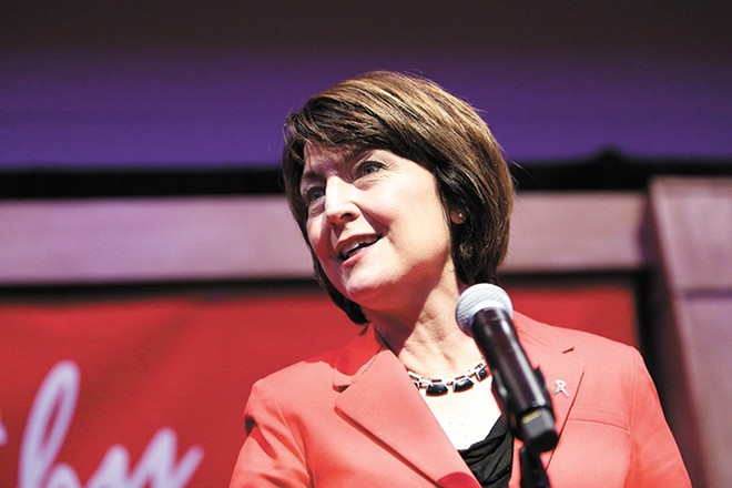 Cathy McMorris Rodgers says the Mueller investigation should continue, but has been dismissive of the results so far. - YOUNG KWAK PHOTO