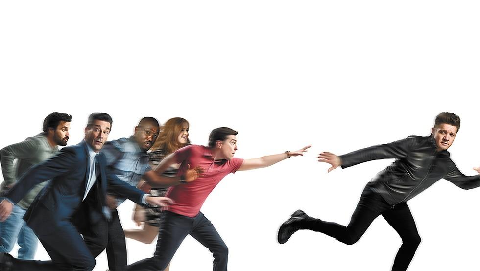 TAG Rated R. Directed by Jeff Tomsic. Starring Jeremy Renner, Rashida Jones, Jon Hamm, Isla Fisher, Ed Helms, Jake Johnson, Hannibal Buress. Opens everywhere on Friday, June 15.