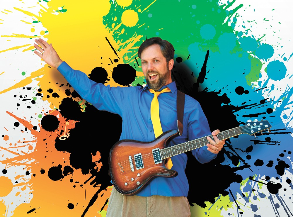 Eric Herman Rocks! is playing numerous shows at area libraries June 18-22.