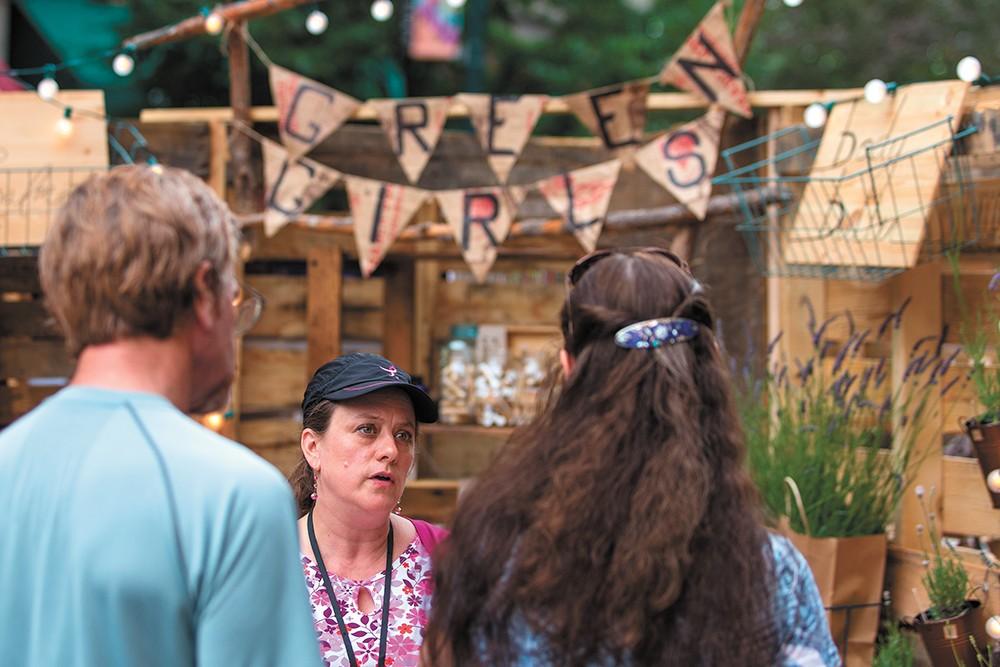 Bazaar, featuring local art and handcrafted goods, returns to downtown Spokane on June 23. - MATT WEIGAND PHOTO