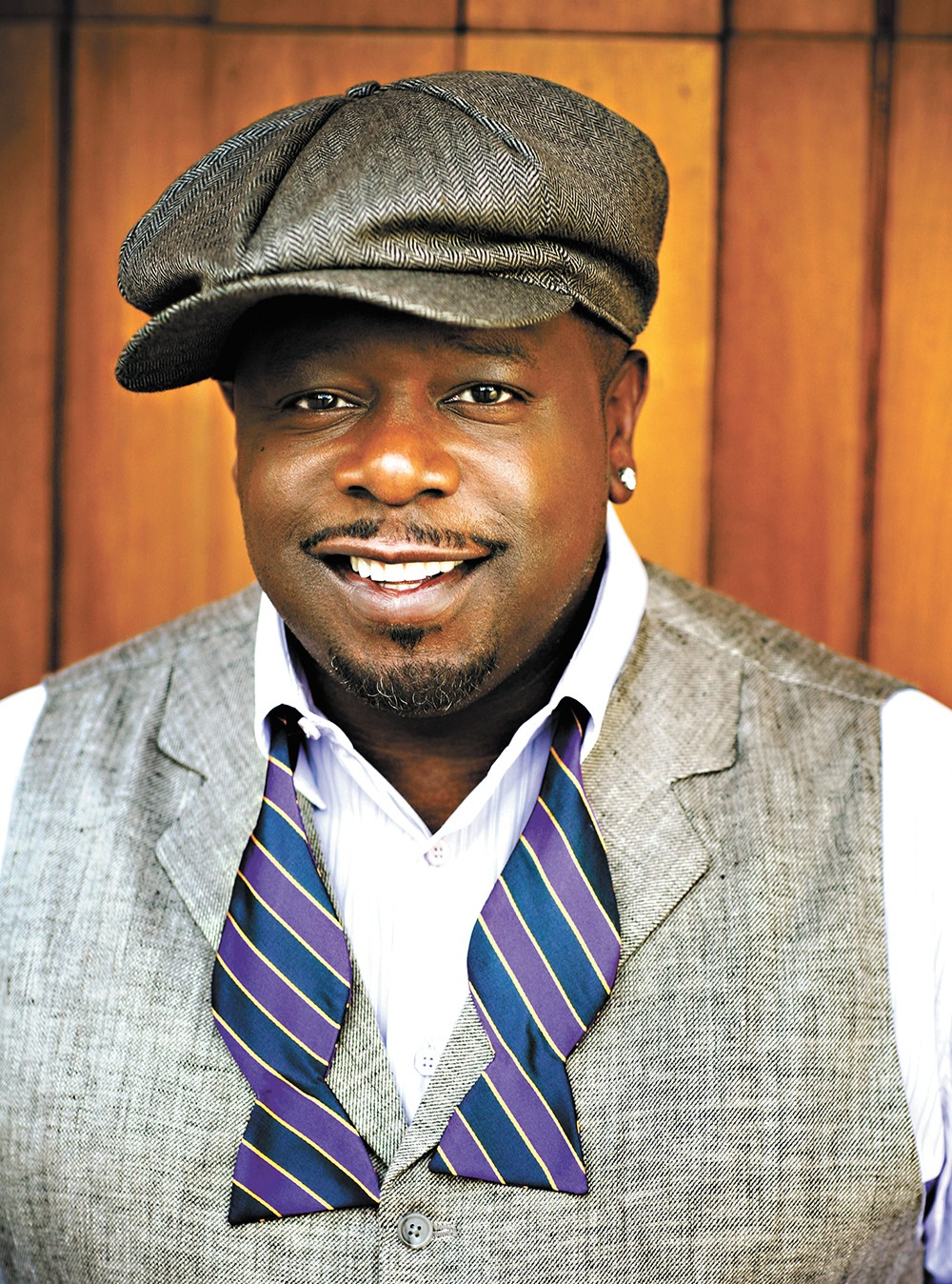 "Cedric the Entertainer says standup is still the best way to ""touch people."" - NICK COLLINS PHOTO"