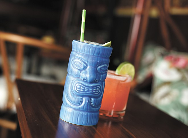 Get a taste of the islands at the newly opened Tiny Tiki in Spokane. - YOUNG KWAK
