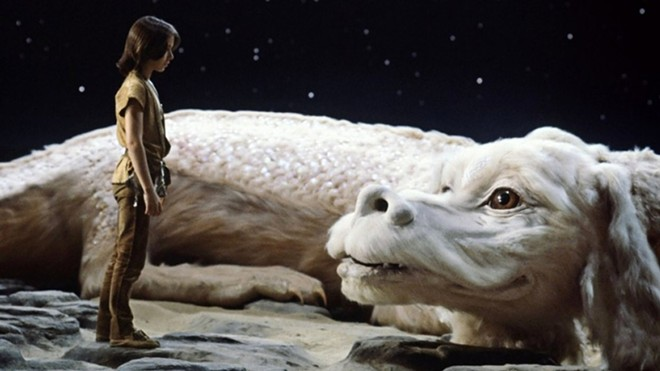 Neverending Story plays at the Garland Theater Tuesday as part of its summer camp film series