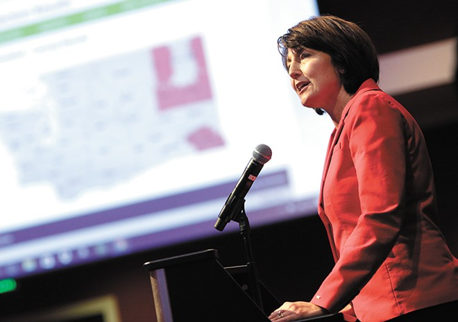 Congresswoman Cathy McMorris Rodgers. - YOUNG KWAK