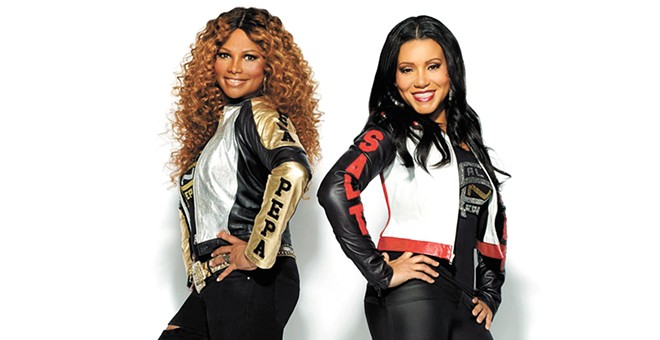 "Hip-hop pioneers Salt-N-Pepa are among the stars sharing the spotlight during the ""I Love the '90s"" tour."