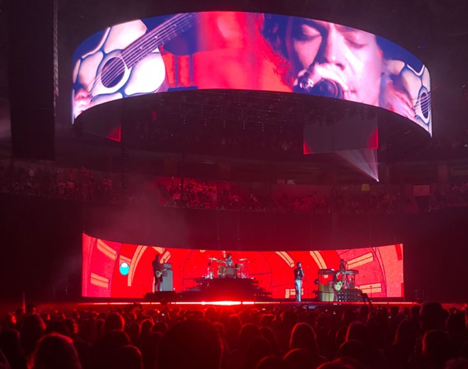Harry Styles headlined at the Key Arena in Seattle on Saturday. - BROOKE CARLSON PHOTO