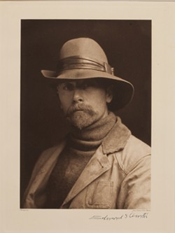 Self Portrait depicting Edward Curtis.