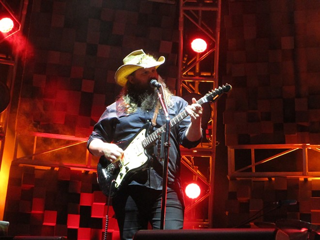 Chris Stapleton packed the Spokane Arena Thursday. - DAN NAILEN