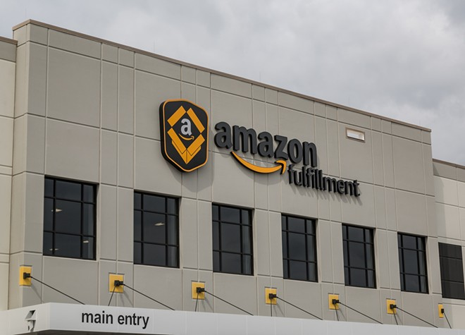 An Amazon Fulfillment Center in Shakopee, Minnesota. - TONY WEBSTER PHOTO