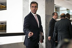 Michael Cohen - AL DRAGO/THE NEW YORK TIMES