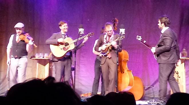 Punch Brothers at the Bing Wednesday night. - DAN NAILEN