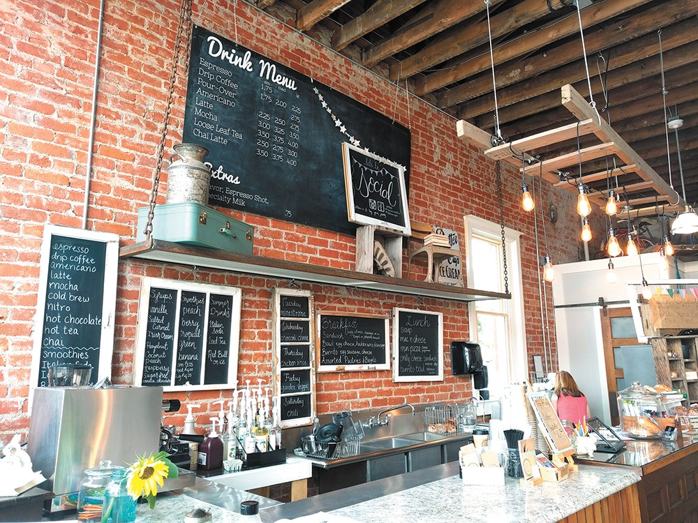 Historic and rustic details bring a charming coziness to the cafe's space. - CHEY SCOTT PHOTO