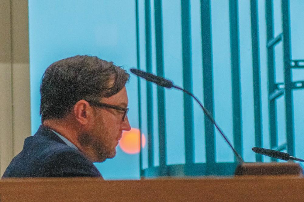 Council President Ben Stuckart. - DANIEL WALTERS PHOTO