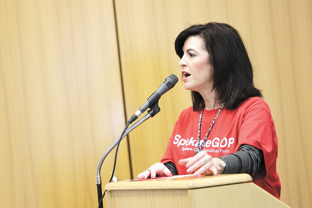 Former Spokane Republican Party Chair Stephanie Cates says Brian Standow played different sides of the party against each other — until he angered too many people. - YOUNG KWAK