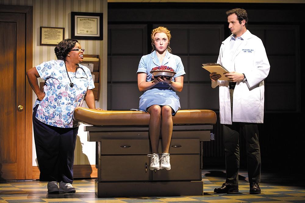 The Tony-nominated Waitress plays in Spokane Dec. 12-16.|Joan Marcus photo
