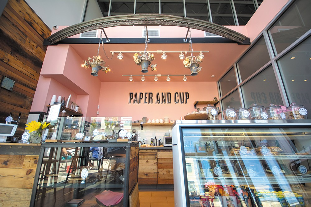 A coffee and pastry destination in Kendall Yards. - STUART DANFORD PHOTO