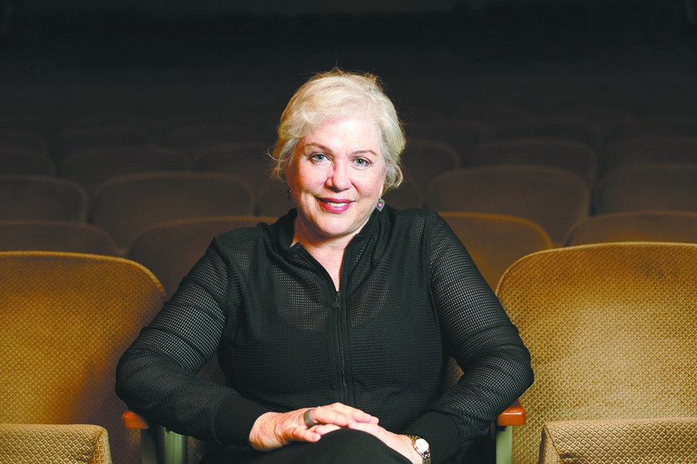 Julia Sweeney at the Fox Theater, where she'll perform her show Older & Wider. - YOUNG KWAK