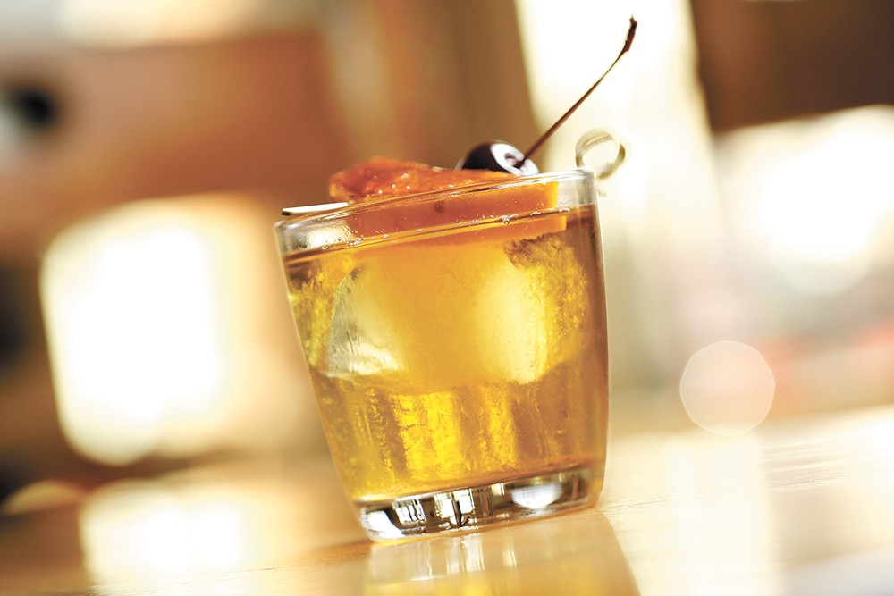 The old fashioned at the Wandering Table. - YOUNG KWAK
