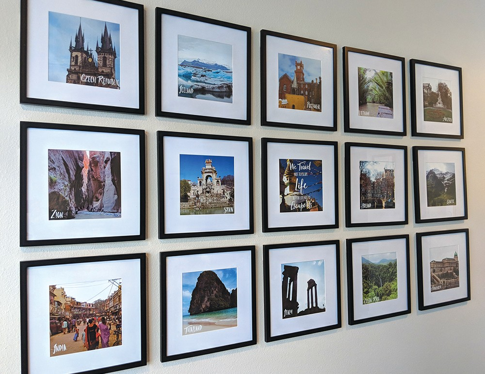 Each photo in this gallery represents a different travel memory for Raevyn West. - ALI BLACKWOOD PHOTO