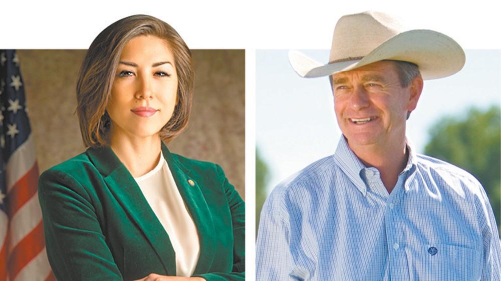 Idaho's next governor: Democratic Rep. Paulette Jordan or Republican Lt. Gov. Brad Little.