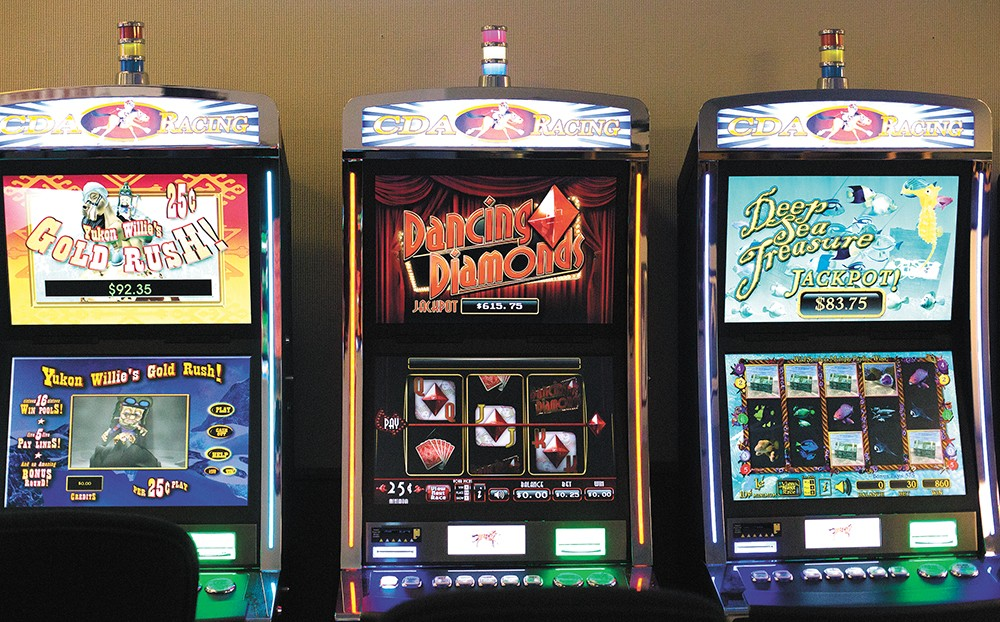"They're called ""historic horse racing"" machines, but they act a lot more like slot machines. - YOUNG KWAK"