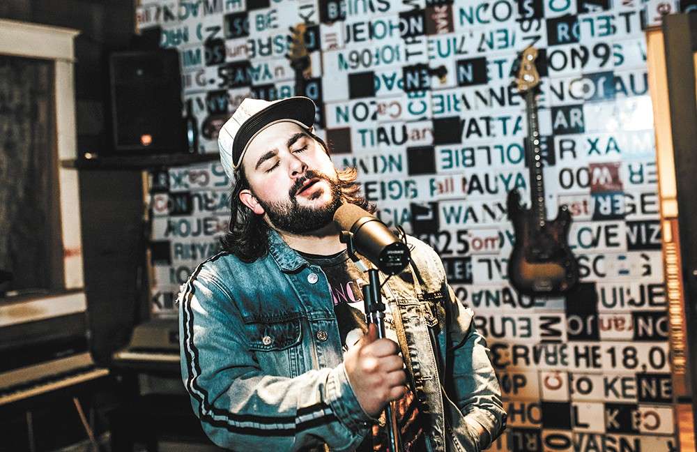Spokane vocalist Blake Braley has cultivated a following with his breezy style and a weekly gig at Zola. - ALICIA HAUFF PHOTO