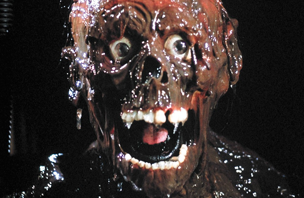 """More brains!"" From The Return of the Living Dead."
